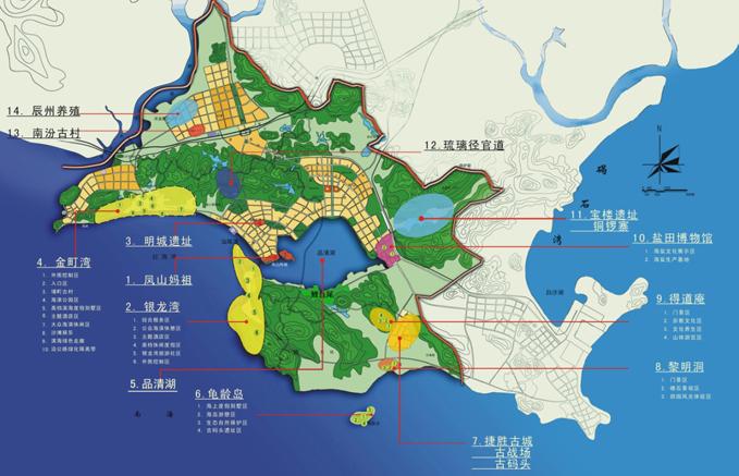 广东省汕尾市城区旅游总体规划