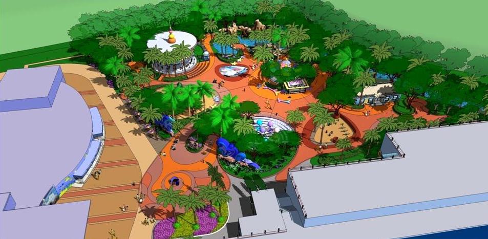 深圳市小梅沙海洋世界概念设计及海洋乐园方案深化设计